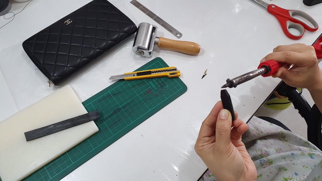 Đào tạo, dạy nghề sửa chữa spa túi xách đồ hiệu 7