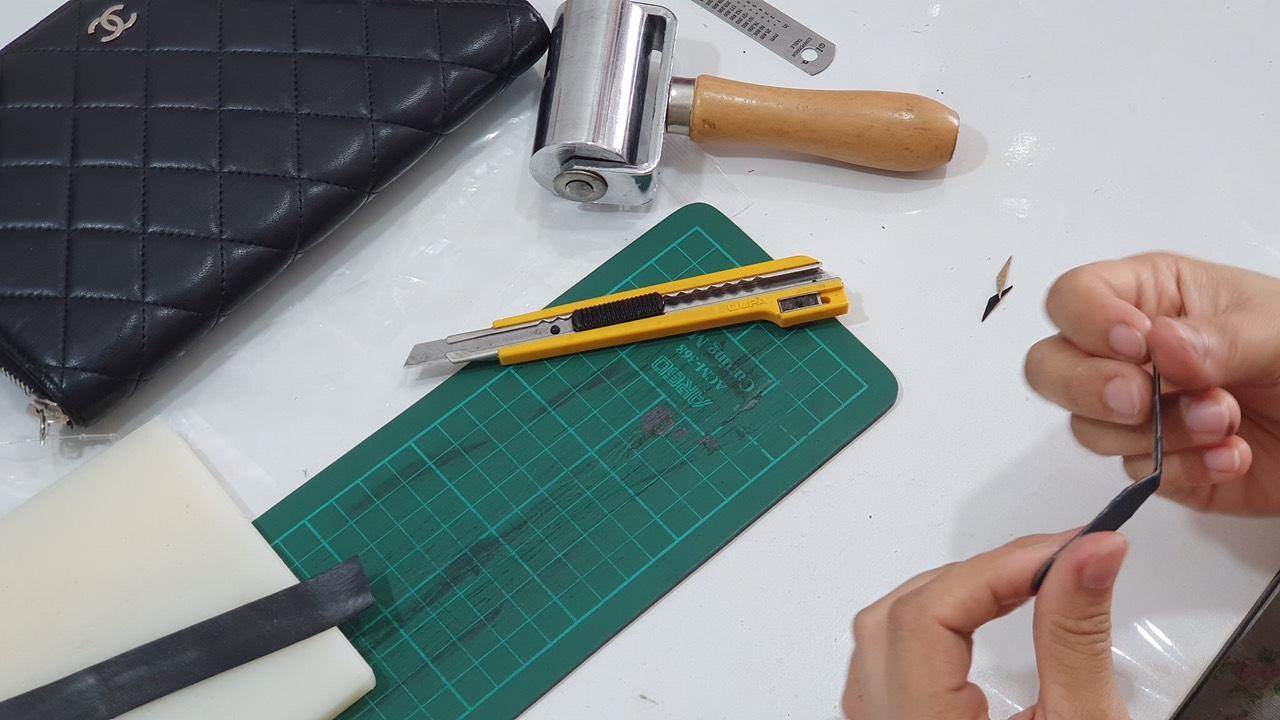 Đào tạo, dạy nghề sửa chữa spa túi xách đồ hiệu 8