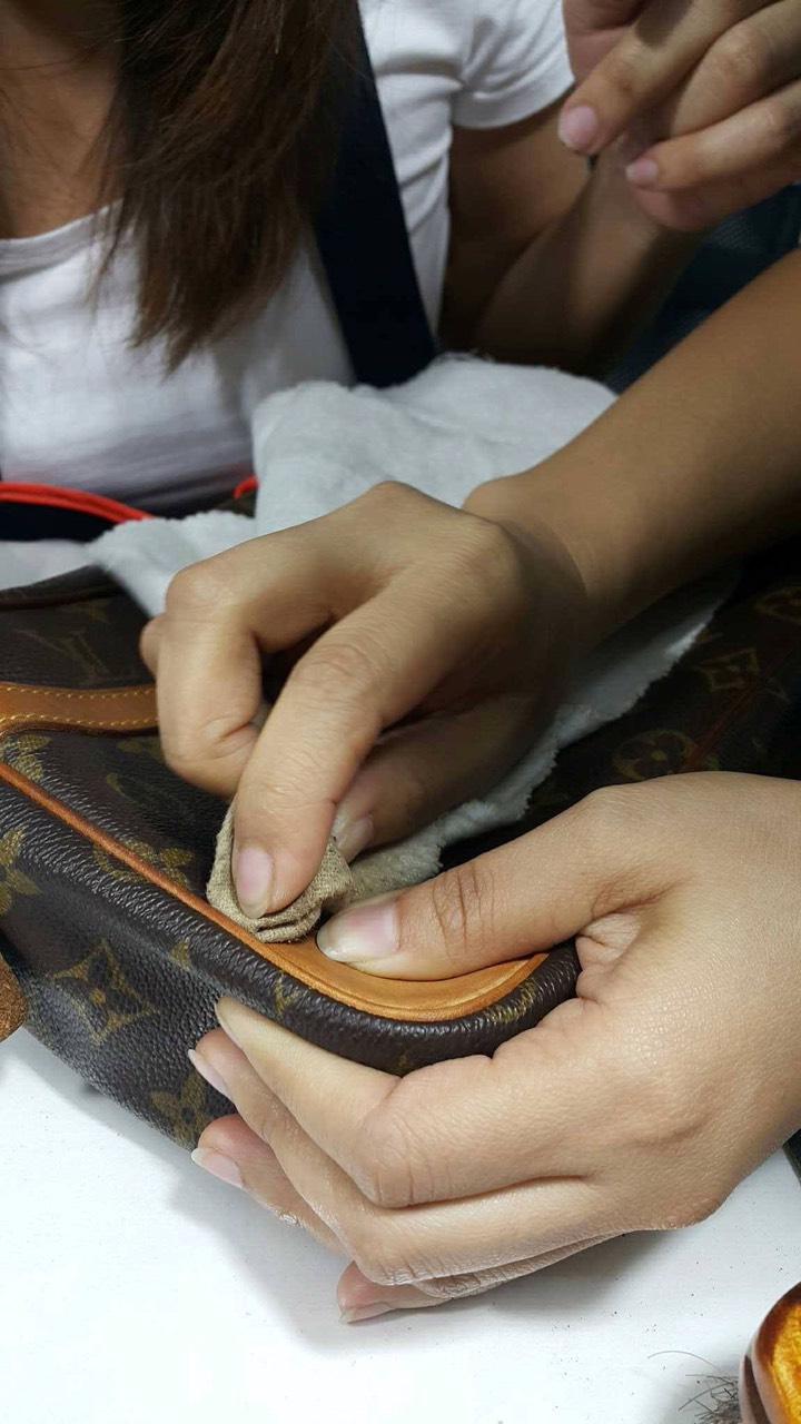 Đào tạo, dạy nghề sửa chữa spa túi xách đồ hiệu 11