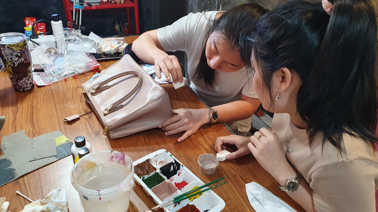 Đào tạo, dạy nghề sửa chữa spa túi xách đồ hiệu 5
