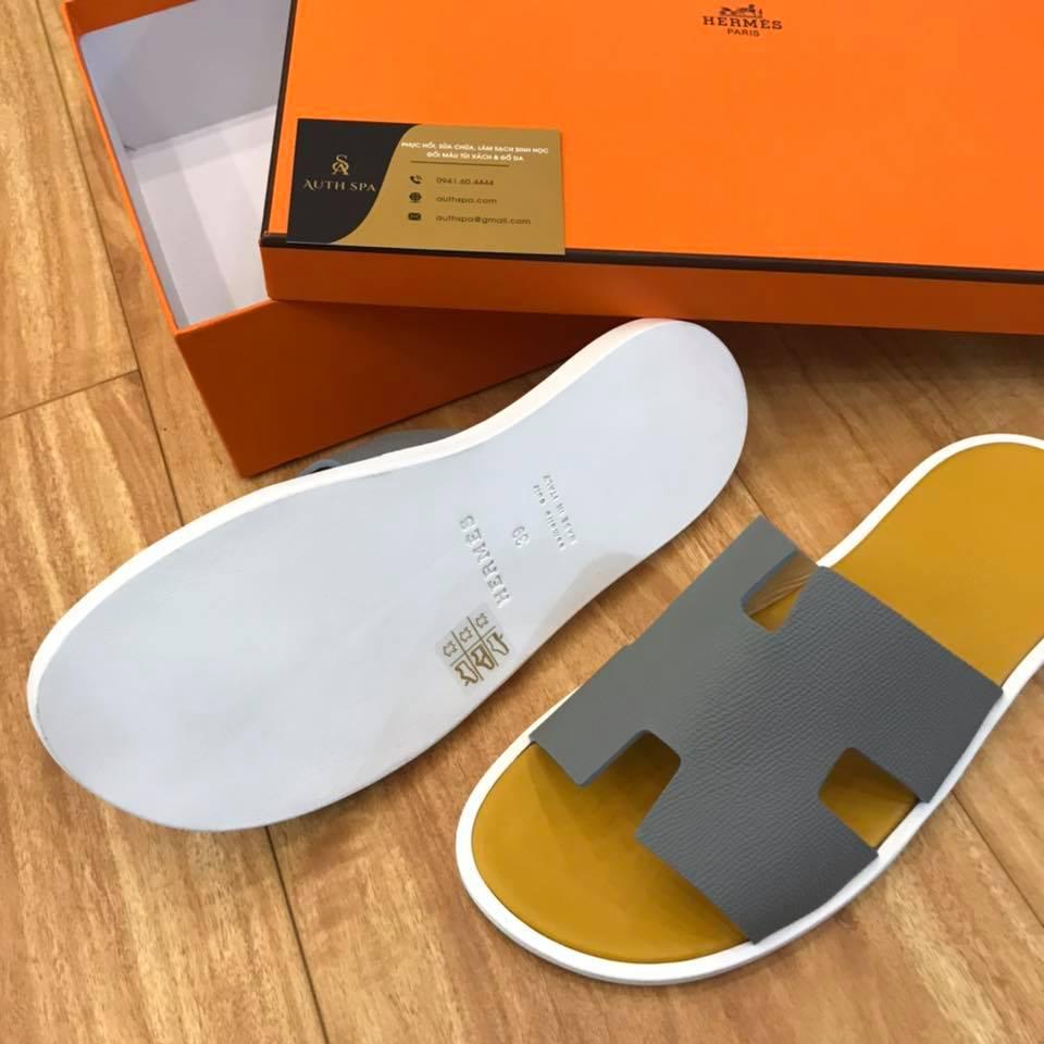Dán đế giày dép Hermes 3
