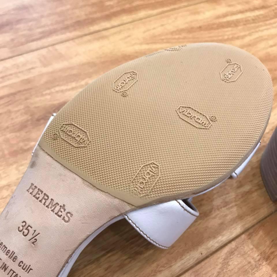 Dán đế giày dép Hermes 9