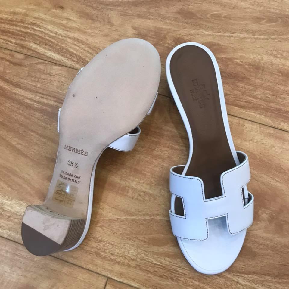 Dán đế giày dép Hermes 8
