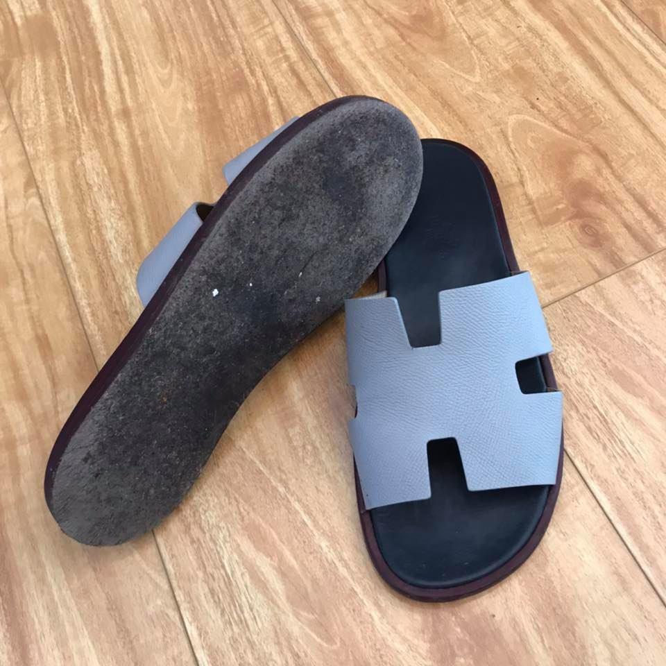 Dán đế giày dép Hermes 7