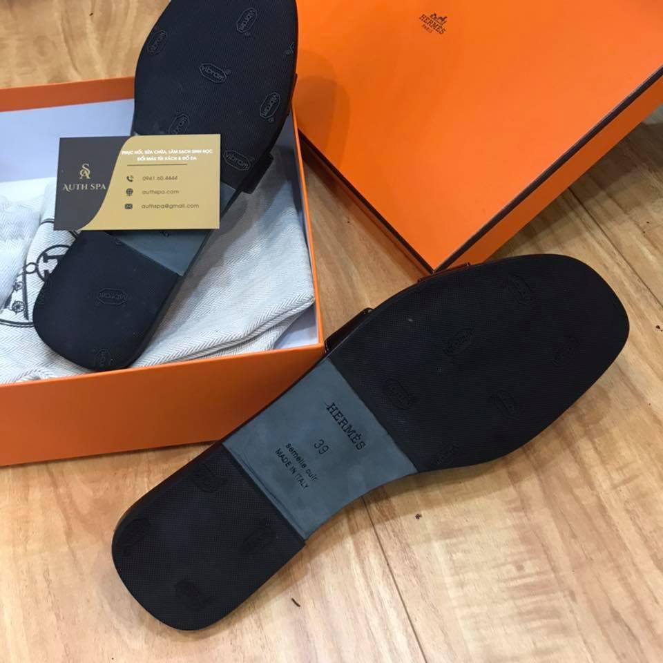Dán đế giày dép Hermes 13