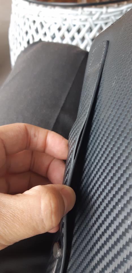 Sửa viền túi, ví, thắt lưng hàng hiệu 12