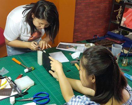 Đào tạo, dạy nghề sửa chữa spa túi xách đồ hiệu 15