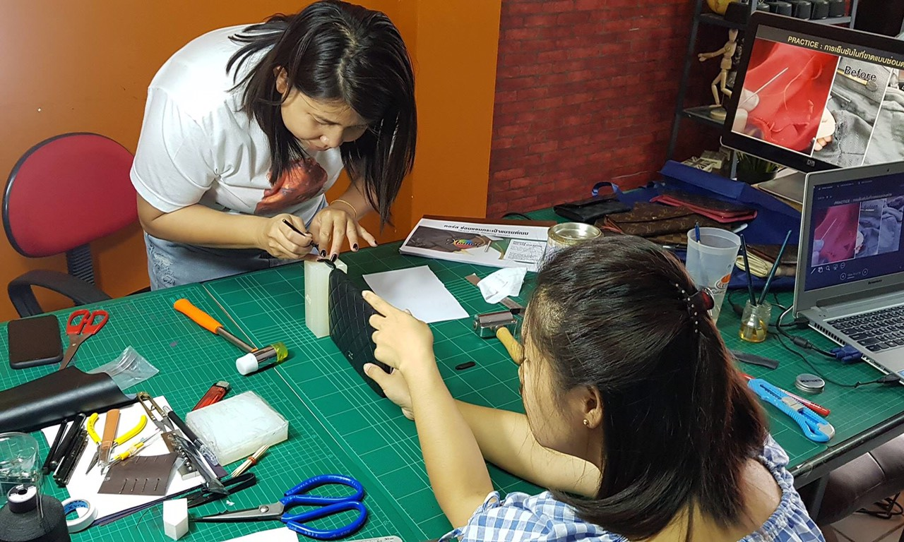 Đào tạo, dạy nghề sửa chữa spa túi xách đồ hiệu 37