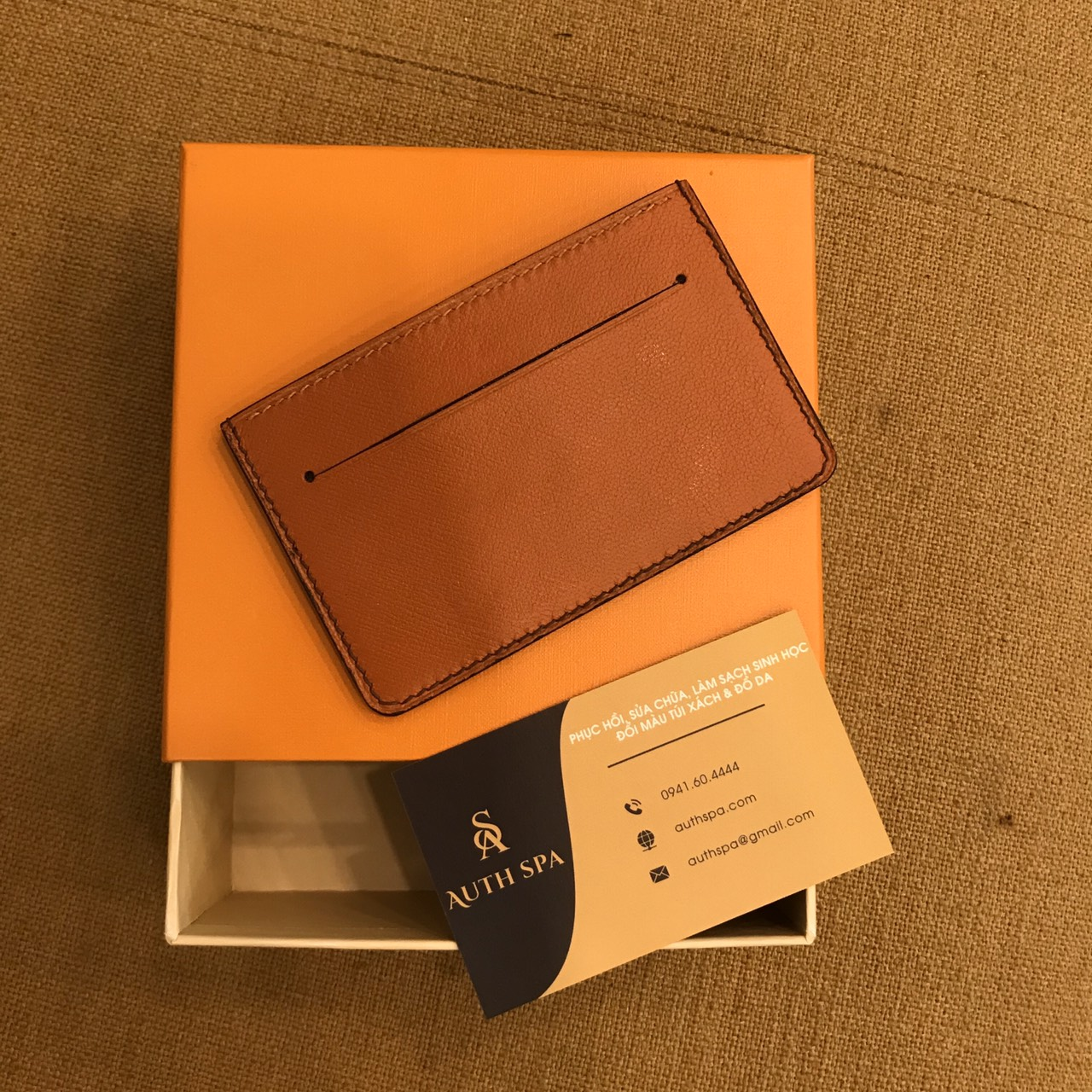 Ví Đựng Card LV ( Card Holder Louis Vuitton ) 13