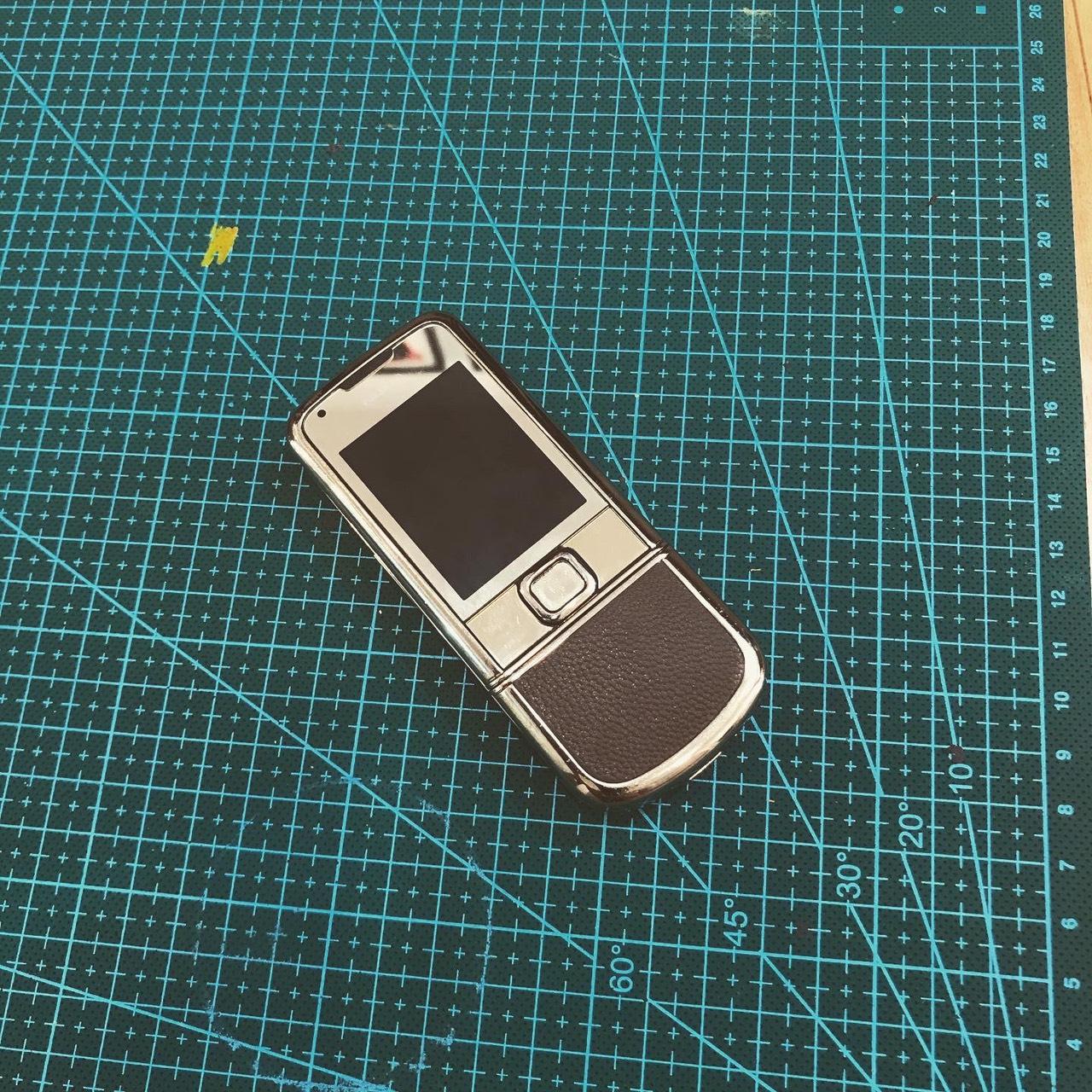 Dán da LV cho Nokia 8800 Gold Arte 3