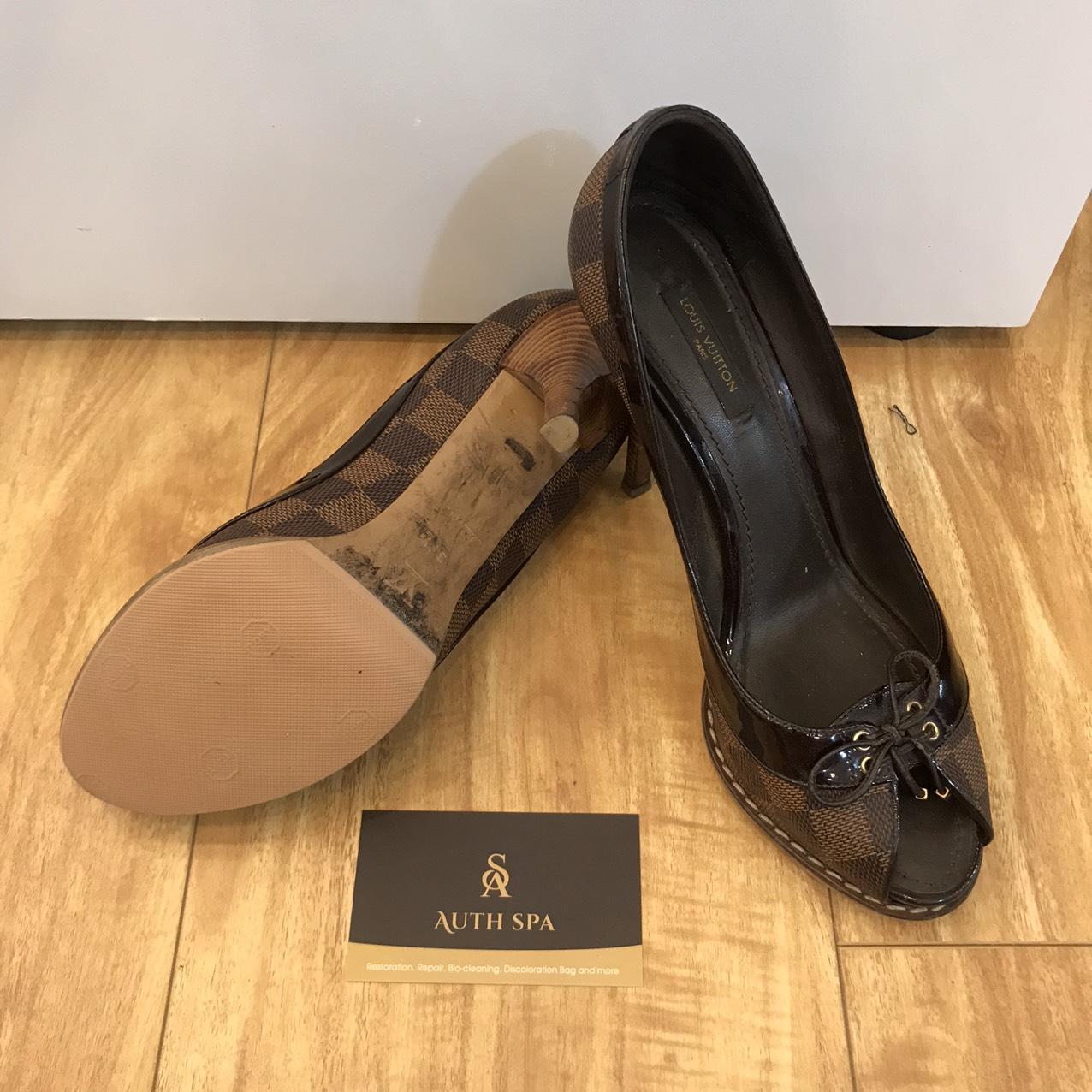 Sửa Chữa Giày Dép Gucci, Chanel, Louis Vuitton, Hermes ... 14