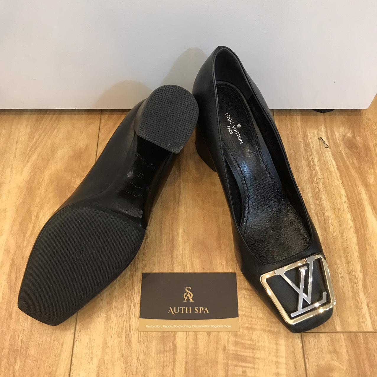 Sửa Chữa Giày Dép Gucci, Chanel, Louis Vuitton, Hermes ... 19