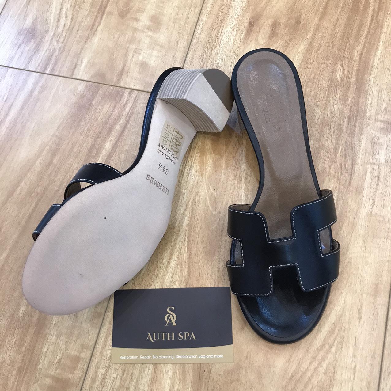 Sửa Chữa Giày Dép Gucci, Chanel, Louis Vuitton, Hermes ... 10