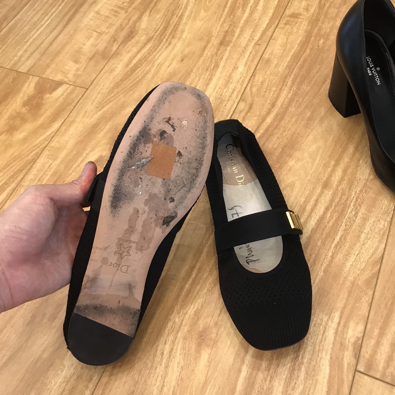 Đắp đế giày dép 34
