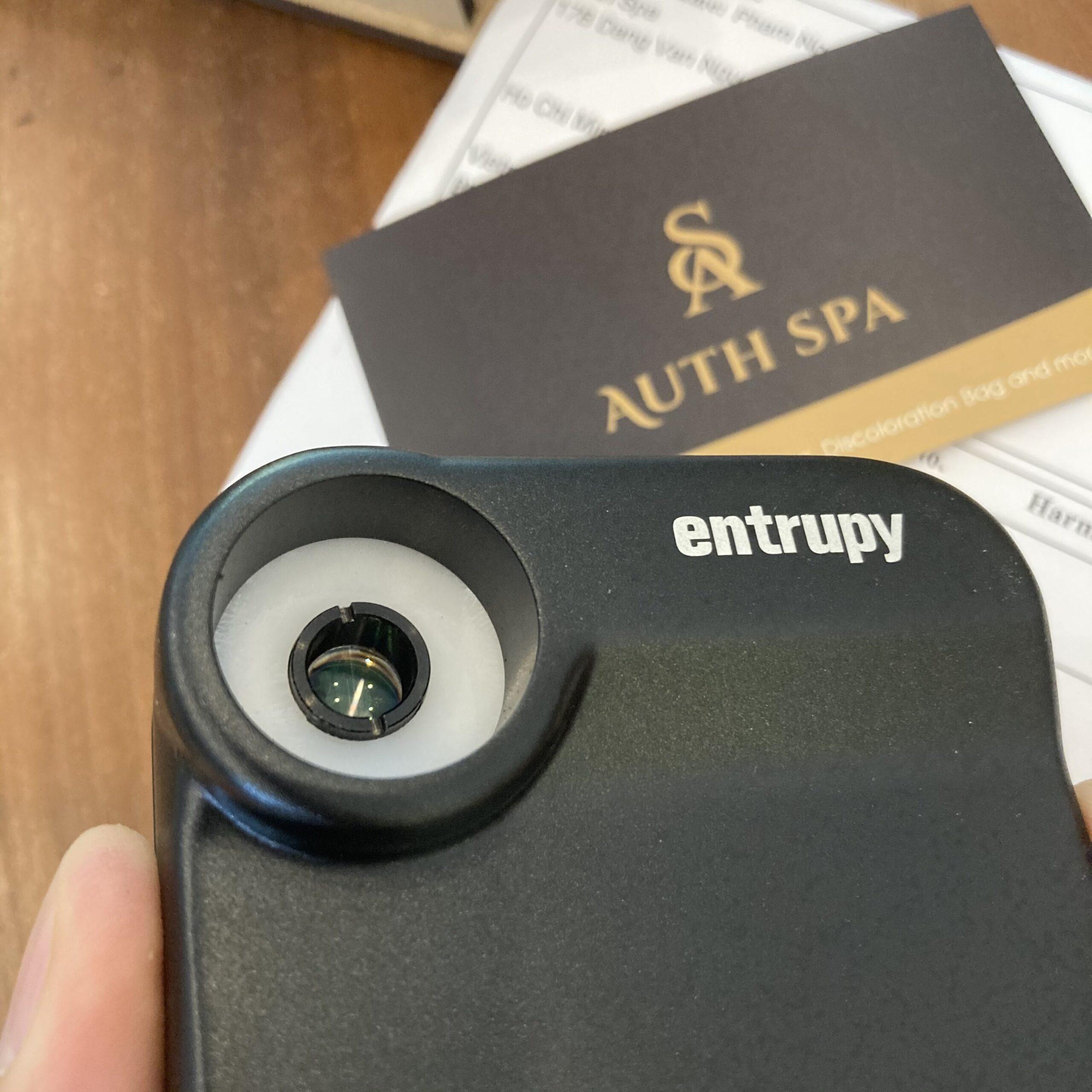 Mua bán, cho thuê và đăng ký máy check hàng hiệu Entrupy 9